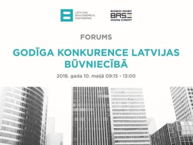 """Image for Forums """"Godīga konkurence Latvijas būvniecībā"""""""