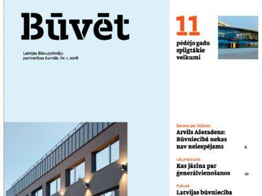 """Image for Latvijas Būvuzņēmēju partnerība izdevusi žurnālu """"Būvēt"""""""