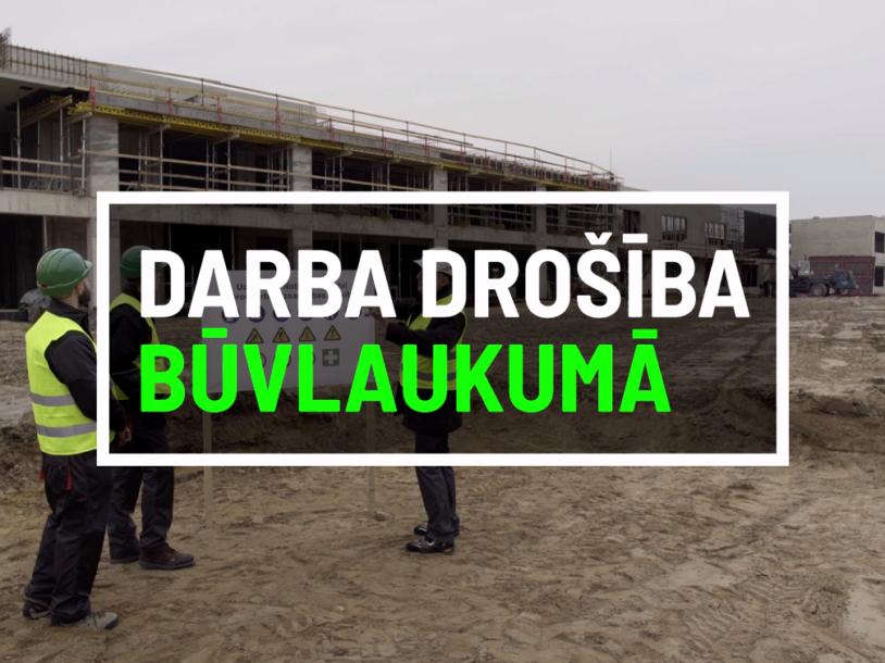 Image for Latvijas Būvuzņēmēju partnerības darba drošības video prezentācija