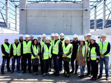 """Image for """"Getliņi"""" nosvin spāru svētkus jaunajai bioloģiski noārdāmo atkritumu pārstrādes rūpnīcai"""