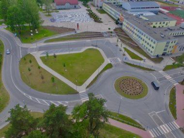 Image for Ikšķiles centrā pārbūvēta infrastruktūra un mainīta satiksmes organizācija